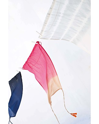 Mara Mea Sun Protector Frutica - Pink dip dye - 100% Cotton (56x72 cm) Stroller Accessories