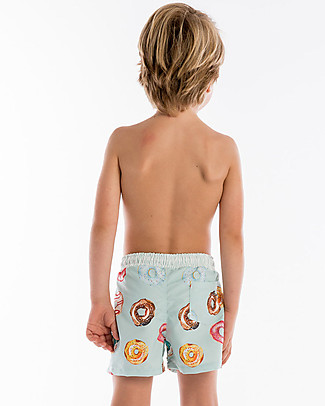 Maria Bianca Boy Swim Shorts, Donuts Swimming Trunks