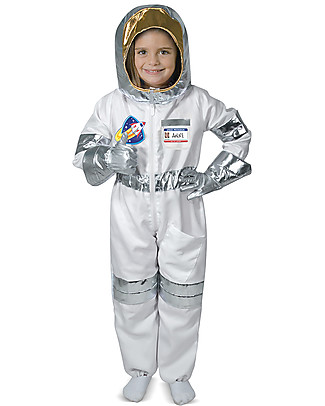 Melissa & Doug Astronaut Costume - With gloves and helmet! null