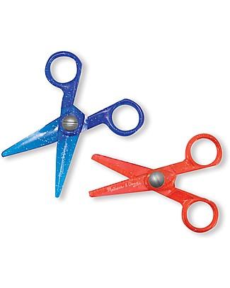 Melissa & Doug Child-Safe Scissor Set - 2 Pieces Colouring Activities