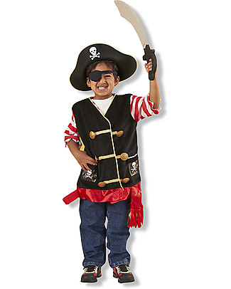Melissa & Doug Pirate Role Play Set - Perfect for fancy dress parties! Creative Toys