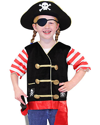 Melissa & Doug Pirate Role Play Set - Perfect for fancy dress parties! null