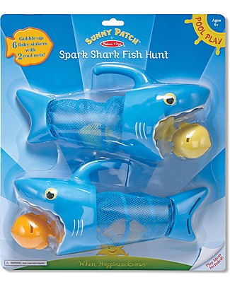 Melissa & Doug Spark Shark Fish Hunt - Pool Toy Creative Toys