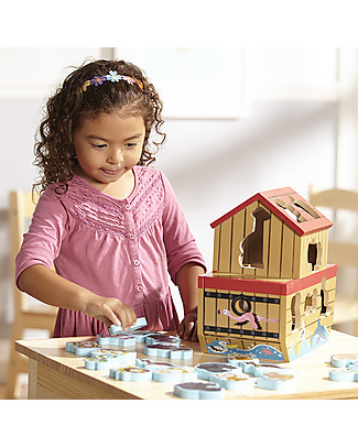 Melissa & Doug Wooden Noah's Ark Play Set, 29 pieces - Great gift idea! Story Making Games