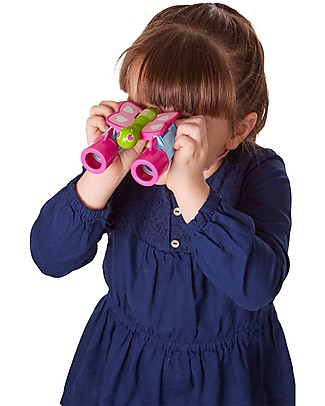 Melissa & Doug Butterfly Binoculars - Encourages Interest in Nature Outdoor Games & Toys