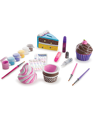 Melissa & Doug DIY Sweet Set Bank – Lots of pieces, ideal for parties! Art & Craft Kits