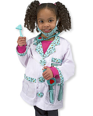 Melissa & Doug Doctor Role Play Set – Perfect for fancy dress parties! null
