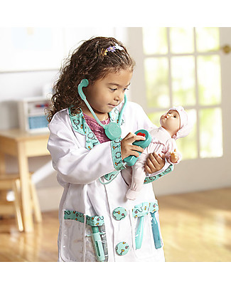 Melissa & Doug Doctor Role Play Set - Perfect for fancy dress parties! Creative Toys