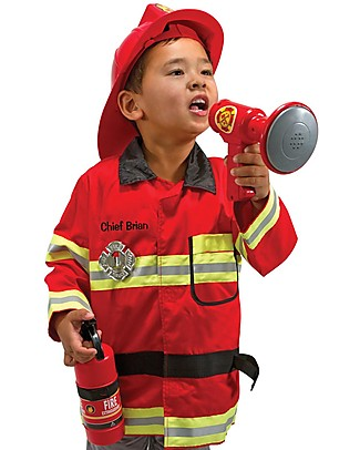Melissa & Doug Fire Chief Role Play Set – Perfect for fancy dress parties! null