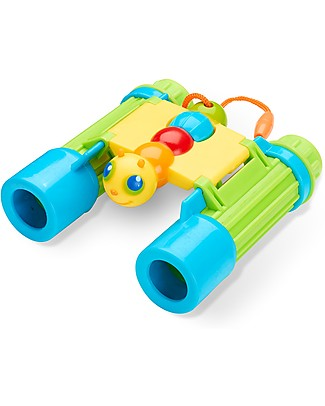 Melissa & Doug Giddy Buggy Binoculars - Encourages Interest in Nature Outdoor Games & Toys
