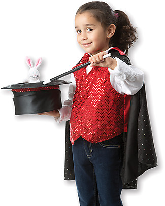 Melissa & Doug Magician Role Play Set – Perfect for fancy dress parties! null