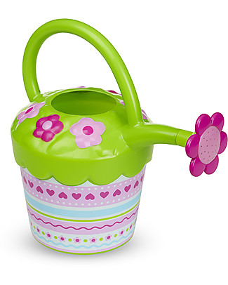 Melissa & Doug Petals Watering Can - Child size! Gardening Toys