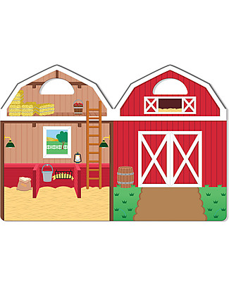 Melissa & Doug Reusable Puffy Stickers - Farm - 52 Stickers Art & Craft Kits