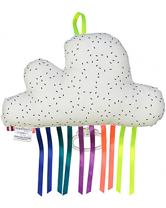 "Mellipou Bam Carillon Cloud Milky, Washable! - ""Paradise"" - Made in France Musical Instruments"