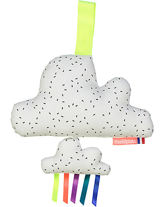 "Mellipou Carillon Minibam Cloud Milky, Washable! - ""I just called to say I love you"" - Made in France Musical Instruments"
