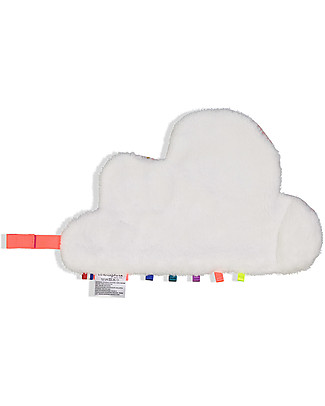 Mellipou DouDou Pacifier Comforter, Amy Rose Cloud - Made in France Doudou & Comforters