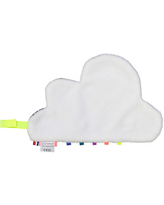 Mellipou DouDou Pacifier Comforter, Milky Cloud - Made in France Doudou & Comforters