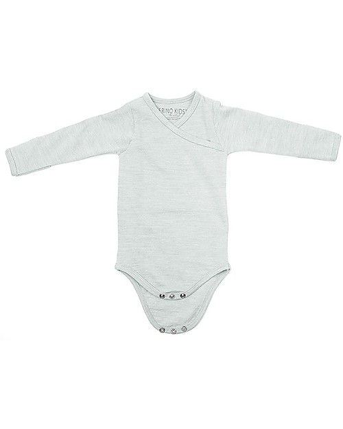 100/% super soft Merino wool long sleeve Bodysuit
