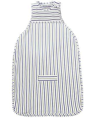 Merino Kids Go Go Bag Duvet Weight Banbury & Mint (newborn to 2 years) - 100% Natural Merino Wool and Organic Cotton Warm Sleeping Bags