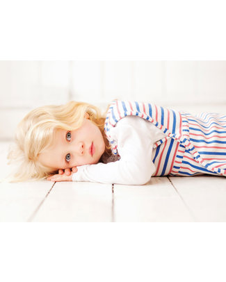 Merino Kids Go Go Bag Duvet Weight Banbury & Raspberry (2-4 years) - 100% Natural Merino Wool and Organic Cotton Warm Sleeping Bags