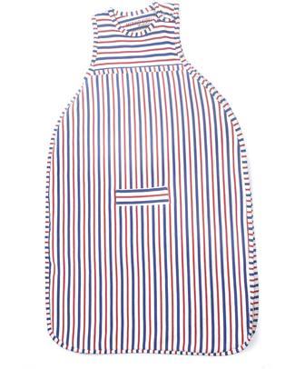 Merino Kids Go Go Bag Duvet Weight Banbury & Raspberry (2-4 years) - 100% Natural Merino Wool and Organic Cotton Warm Sleeping Bags