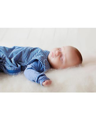 Merino Kids Go Go Bag - Sleeping Bag Banbury (Newborn to 2 Yrs) - 100% Natural Merino Wool and Organic Cotton Warm Sleeping Bags
