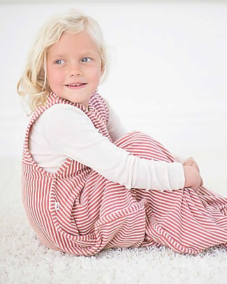 Merino Kids Go Go Bag - Sleeping Bag Raspberry (2 to 4 YO) - 100% Natural Merino Wool and Organic Cotton Warm Sleeping Bags