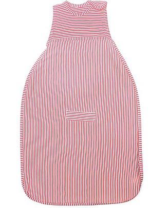 Merino Kids Go Go Bag - Sleeping Bag Raspberry (2 to 4 YO) - 100% Natural Merino Wool and Organic Cotton Warm Sleeping Bags