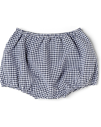 Mia Bu Milano Boy's Bloomer, Vichy/Navy - Come in a gift box with a fairy tale included! Swimming Trunks