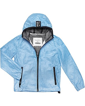 Mia Bu Milano Summer Wind Jacket, Blue - 100% Tyvek®, innovative patented fabric Jackets