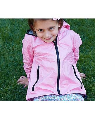 Mia Bu Milano Summer Wind Jacket, Dark Pink - 100% Tyvek®, innovative patented fabric Jackets