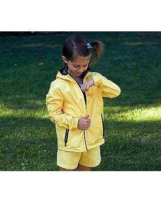 Mia Bu Milano Summer Wind Jacket, Light Yellow - 100% Tyvek®, innovative patented fabric Jackets