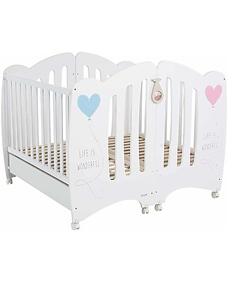 Micuna Duo Kit for Micuna Twin Cots  Cribs & Moses Baskets