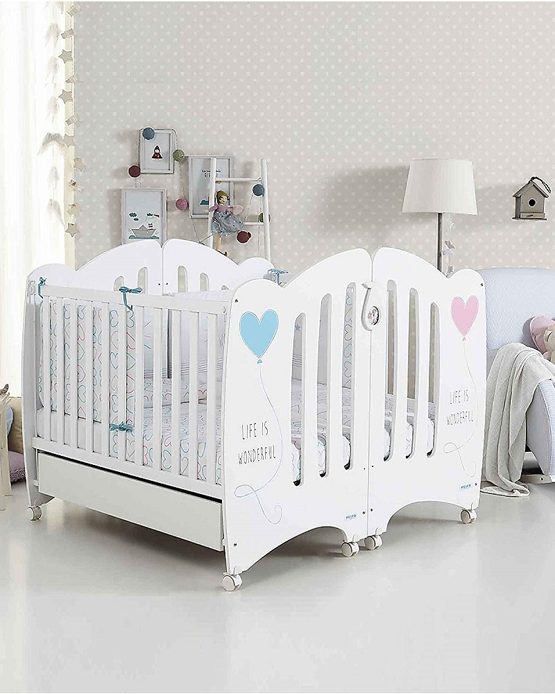 Moba Organic Soft Touch Mattress White Hypoallergenic Baby Infant Bedding