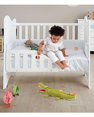 Micuna Micussori Guard Rail, White - Develop Autonomy Baby Safety Accessories