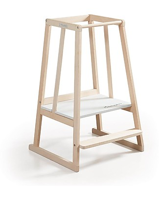 Micuna Micussori Learning Tower, Wood - 53x59x91 cm Montessori Towers