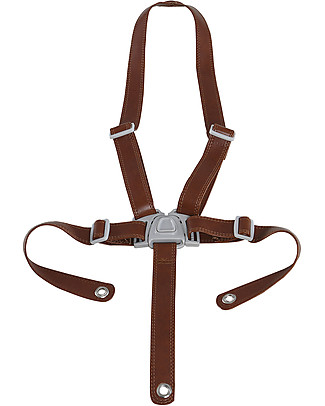 Micuna Safety Belt for Ovo One and City High Chair - Brown, Eco Leather High Chairs