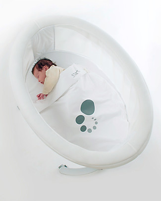 Micuna Textile Set for Smart Fresh Cot, White - Breathable and hypoallergenic! Cribs & Moses Baskets
