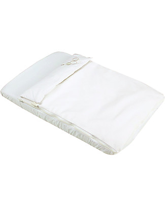 Micuna Textiles for Cododo Cot, White - With bumper and bed sheets! Cribs & Moses Baskets