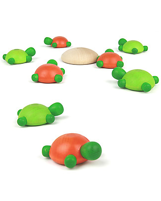 Milani Wood Turtle Challenge, 2 games in 1! - Great gift idea! null