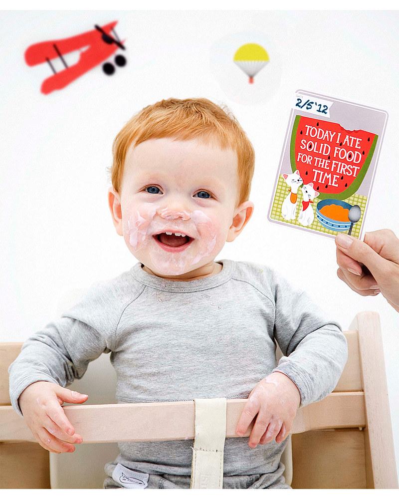 milestone baby cards milestone baby cards english text ideal