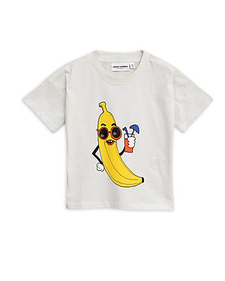 Mini Rodini Banana T-Shirt - Organic cotton T-Shirts And Vests