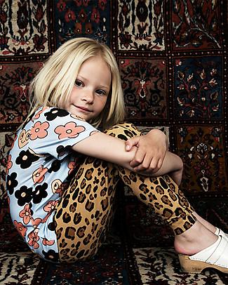 Mini Rodini Basic Leopard Leggings - Organic cotton, eco-friendly! Leggings