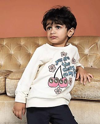 Mini Rodini Cherry Sweater – Organic cotton Sweatshirts