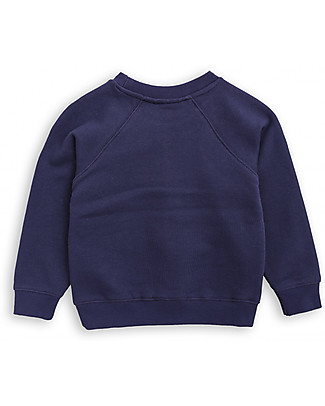 Mini Rodini Flying Bat Sweater, Navy - 100% organic cotton Sweatshirts