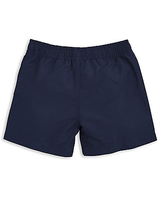 Mini Rodini Frog Swimshorts, Navy - 100% recycled fabric Swimming Trunks