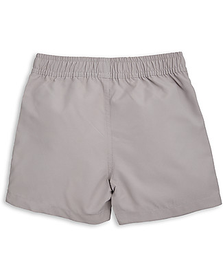 Mini Rodini Lion Swimshorts, Light Grey - 100% recycled fabric Swimming Trunks