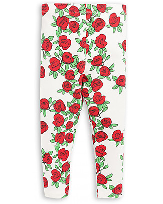 Mini Rodini Rose Leggings - Organic cotton, eco-friendly! Leggings
