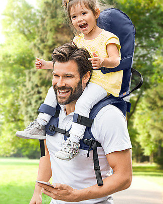 Minimeis Minimeis Child Carrier, Blue - From 6 months to 5 years! Large Backpacks