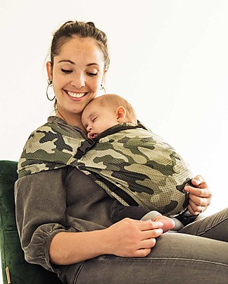 Minimonkey Baby Mini Sling, Army - Lightweight Baby Slings